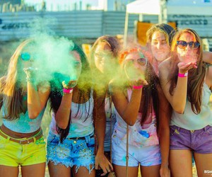 friends, colors, and fun image
