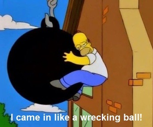 funny, miley cyrus, and the simpsons image
