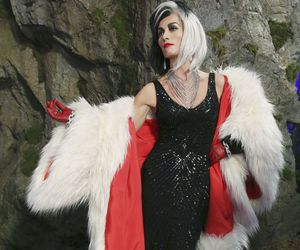 once upon a time, cruella, and de vil image