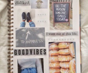 notebook, Collage, and tumblr image