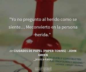 libros, paper towns, and wattpad image