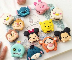 disney, food, and macaroons image
