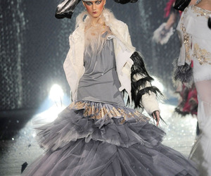 fashion, John Galliano, and autumn winter image