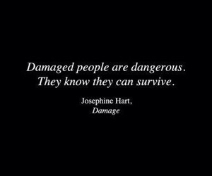 damaged, quotes, and people image