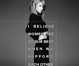 Taylor Swift and feminist image