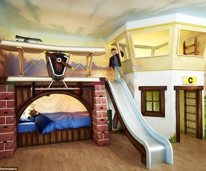 Dream, little boy, and bedroom idea image