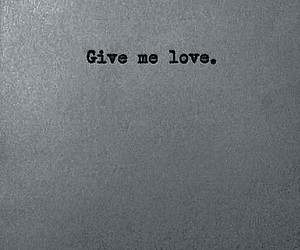 dark, give, and love image