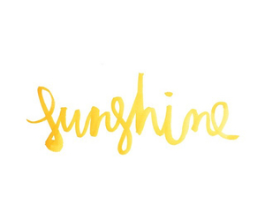 quotes, sunshine, and handwriting image