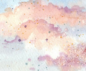 abstract and watercolor image