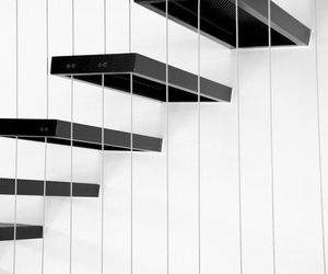 pale, aesthetic, and stairs image