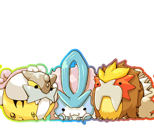 pokemon, cute, and entei image