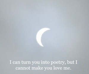 moon, phrases, and quote image