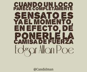edgar allan poe, frases, and inspirational image
