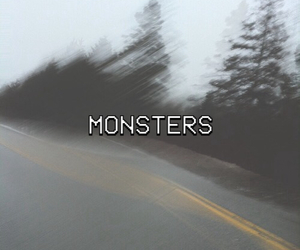 monster, dark, and pale image
