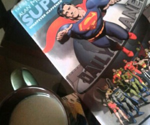 comic, man of steel, and superman image