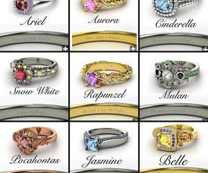 engagement rings, diamond rings, and gorgeous rings image
