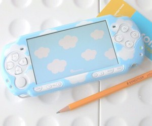 cute, psp, and clouds image