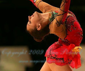 dance, elegant, and red image