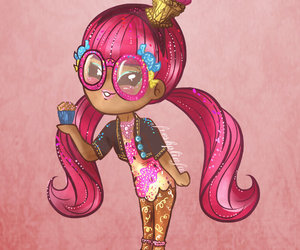 pink, ever after high, and ginger breadhouse image