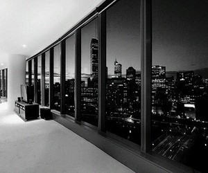 beauty, city, and penthouse image
