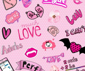 overlay, pink, and pink background image