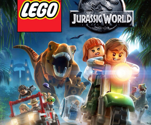 lego and jurassic world image