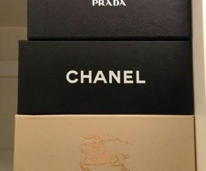 chanel, Prada, and Burberry image