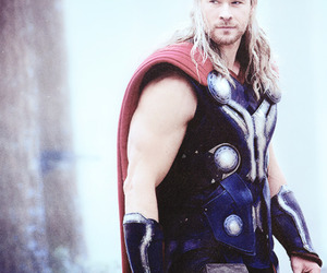 thor, Avengers, and chris hemsworth image