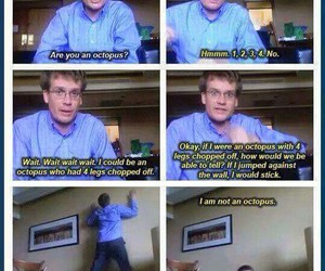 john green, funny, and octopus image