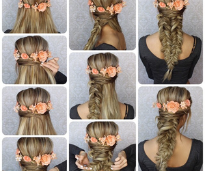 beauty, step by step, and braid image