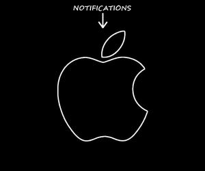 wallpaper, apple, and locks image