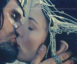 aragorn, arwen, and the lord of the rings image