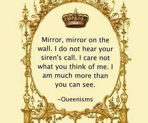 mirror and quote image
