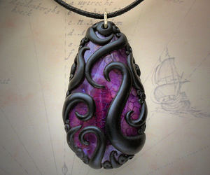 accessories, jewellery, and octopus image