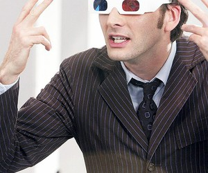 doctor who, david tennant, and 3d image