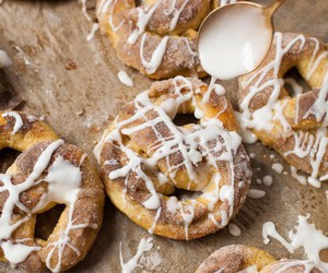 food, pretzels, and sweets image