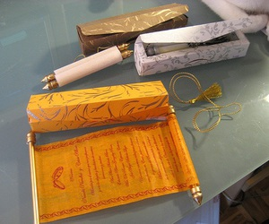 indian, invitation, and roll image