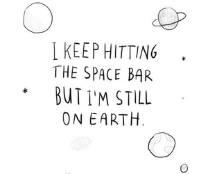 quotes, space, and earth image