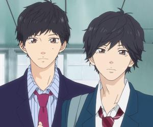 black hair, aniki, and boys image