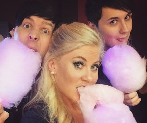 dan howell, funny, and louise image