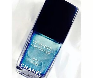 blue, makeup, and chanel image