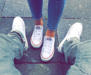 boyfriend, shoes, and cute couple image