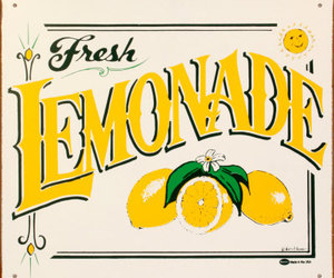 fresh, lemon, and lemonade image