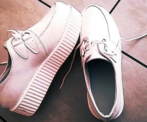 creepers, shoes, and white image
