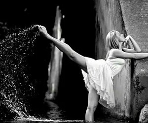 ballet, dance, and watet image