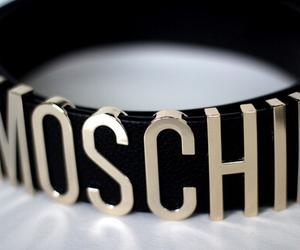 Moschino, belt, and fashion image