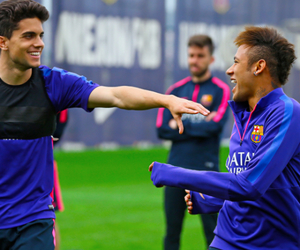 fcb, smile, and fc barcelona image