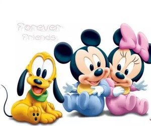 babys, minnie, and mickie image