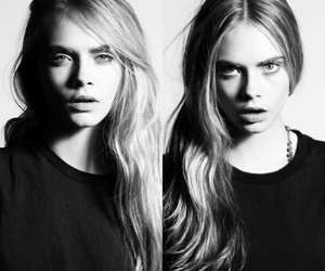 beauty, cara delevigne, and hair image