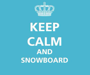 blue, wallpapers, and keep calm and snowboard image